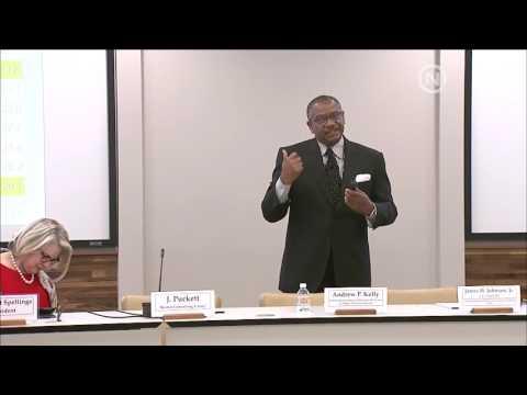 James H. Johnson, Jr. @ UNC BOG 5/26/16