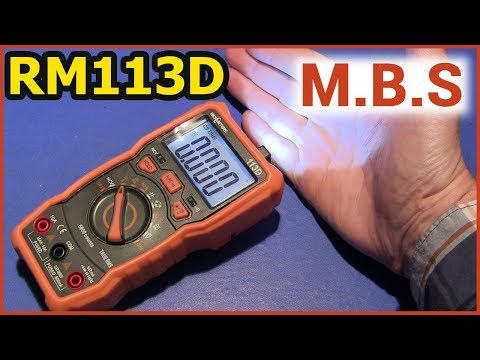 МУЛЬТИМЕТР RM113D - УДАЧНЫЙ True RMS MULTIMETER RICHMETERS