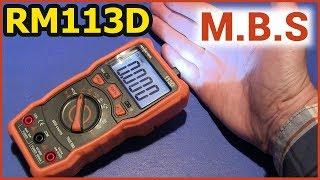 МУЛЬТИМЕТР RM113D - ВДАЛИЙ True RMS MULTIMETER RICHMETERS