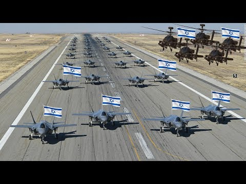 Israeli Air Forces 2019 (All Weapons)