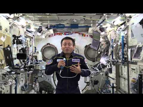 International Space Station Crew Member Discusses Life in Space with Japanese Students