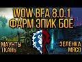 ФАРМ ЭПИК БоЕ И МАУНТОВ В WOW: BATTLE FOR AZEROTH | ДЕЙСТВУЮЩИЕ СПОТЫ