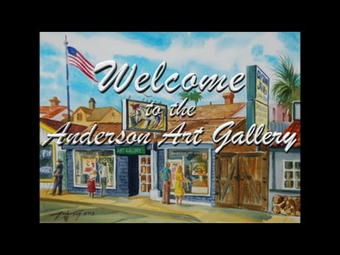 Welcome to the Anderson Art Gallery