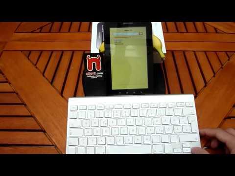 Samsung Galaxy Tab with Bluetooth Keyboard