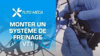TUTO :  montage d'un système de freinage par Probikeshop