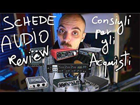 Reaperiani - Consigli per gli acquisti 2017 - Schede audio