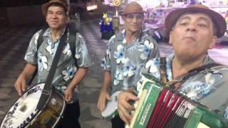 Trio Agrestino in Praça da Republica, São Paulo, Brazil