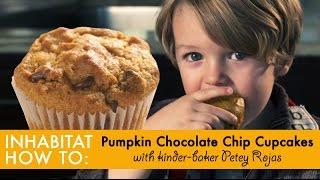 Inhabitat How To: Make Vegan Pumpkin Cupcakes - With Petey Rojas