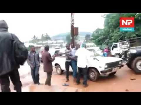 Thugs kidnaps a man in Uganda during day time