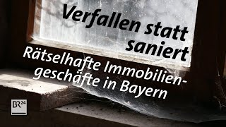 Rätselhafte Geschäfte der Dolphin-Immobiliengesellschaft in Bayern | BR24