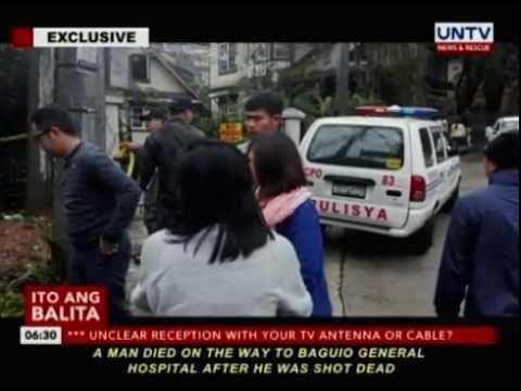 Top 1 drug watchlist person sa Baguio City, patay sa pamamaril