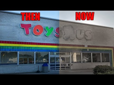 Abandoned Toys R Us One Week After Closing Forever Youtube