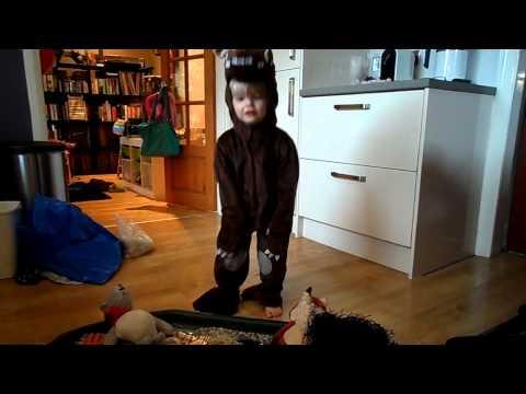He's the Gruffalo! Joker's Masquerade costume review