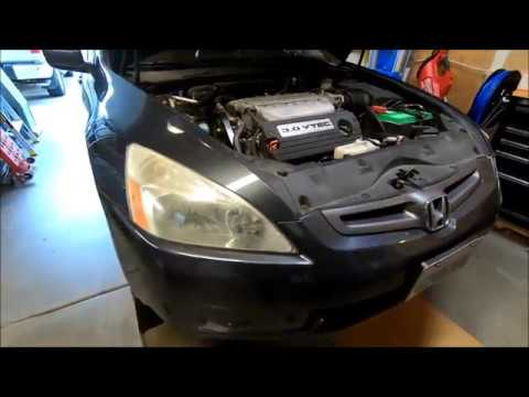 oil change   honda accord  youtube