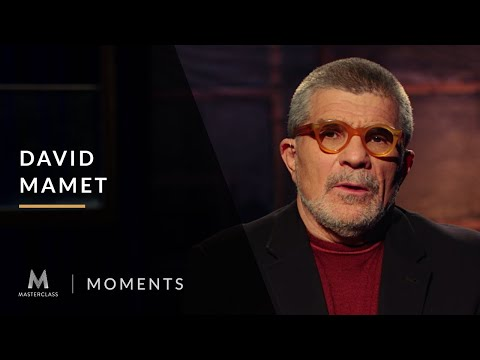 David Mamet: You don't learn to write drama in a classroom