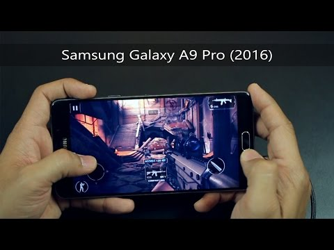 Samsung Galaxy A9 Pro (2016) - Display and Gaming