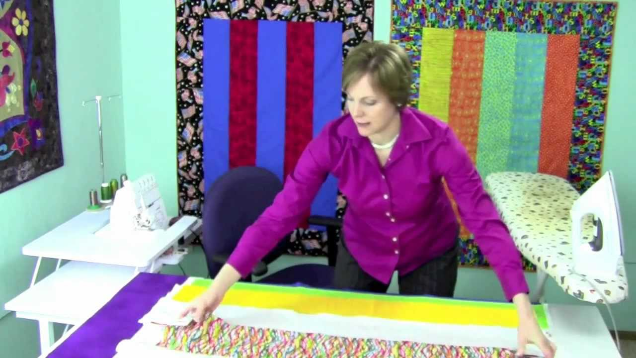 1-Hour Serger Quilt - YouTube : quilting with a serger - Adamdwight.com