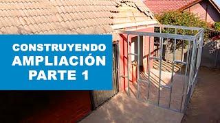 ¿Cómo construir la ampliación de una casa? Primera parte