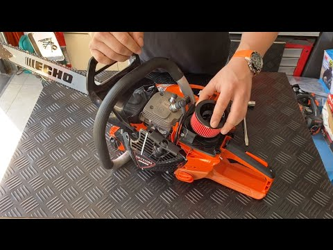 ECHO CS-7310SX Chainsaw Unboxing And Features Breakdown.