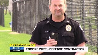 First Amendment Audit - Encore Wire - Defense Contractor - McKinney, TX