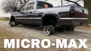 Driving a Duramax on JUST RIMS (sparky burnouts)