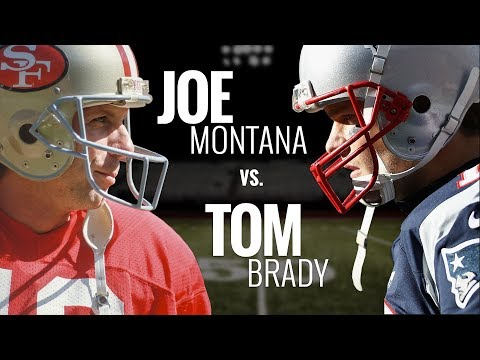 Joe Montana vs. Tom Brady | Who is the greatest quarterback in NFL history?