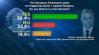 A megkérdezettek 56%-a szerint jogos az EP döntése