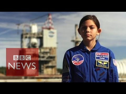 Mars Mission: Could US girl, 13, be first on red planet?