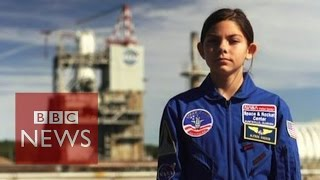 Subscribe to BBC News www.youtube.com/bbcnews Alyssa Carson has big...