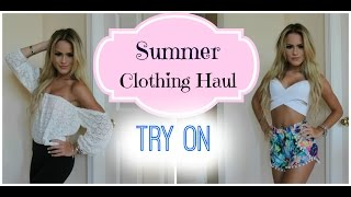 TRY ON Summer Clothing Haul | Lookbook Store