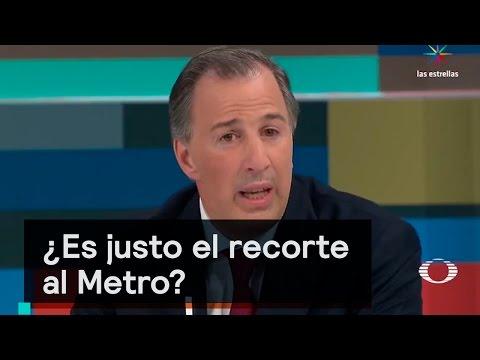 ¿Es justo el recorte al Metro? - Si Me Dicen No Vengo