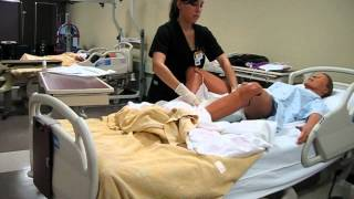 Foley Catheter Insertion N3170 Nursing Skills Video