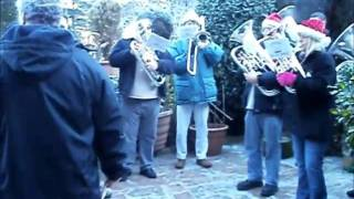 Gweek Silver Band playing Calypso Carol