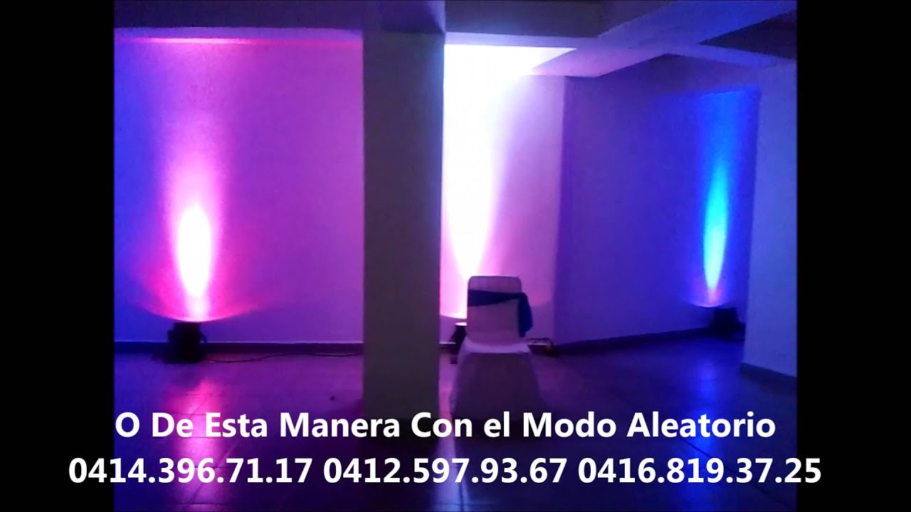 Decoracion con luces led m ximium youtube - Decoracion con luces ...