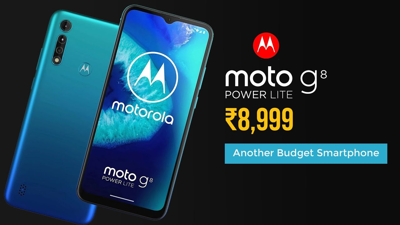 Moto G8 Power Lite First Look Impressions Moto G8 Power Lite Budget Smartphone Price Specs Youtube