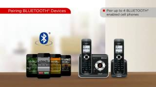 VTech® Connect To Cell™ Cordless Phone Technology