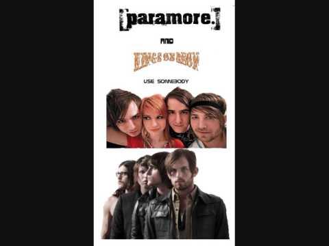 Paramore - Use Somebody MASH UP W/ REAL SONG!