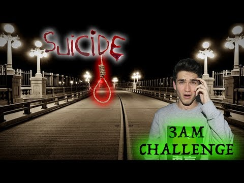 Thumbnail: 3AM CHALLENGE AT SUICIDE BRIDGE (Warning: Incredibly Scary)