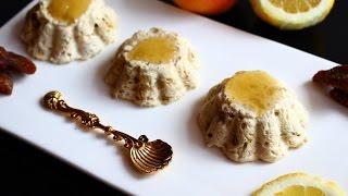 Диетический десерт из творога \ Суфле из творога в микроволновке