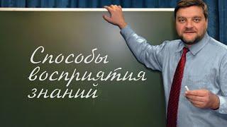 PT202 Rus 7. Введение в предмет. Способы восприятия и анализа знаний.