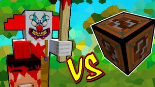 PALHAÇO ASSUSTADOR VS. LUCKY BLOCK WITHER (MINECRAFT LUCKY BLOCK CHALLENGE)