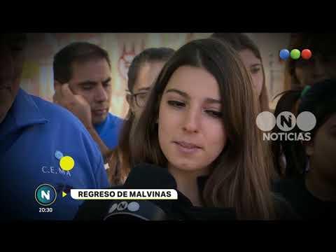 Viaje de egresados a las Islas Malvinas -Telefe Noticias