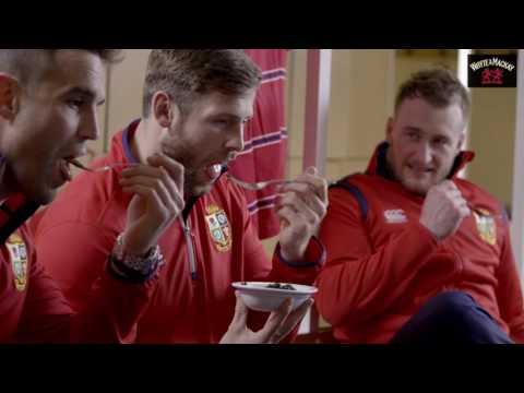 Conor Murray and Elliot Daly try Laverbread | Whyte & Mackay Whisky