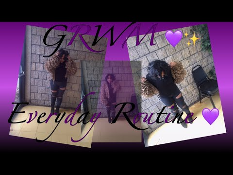 GRWM/Everyday Routine @Wilberforce University
