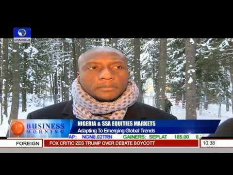 Oscar Onyema CEO NSE Speaks On Nigeria & SSA Equities Markets 28/01/16