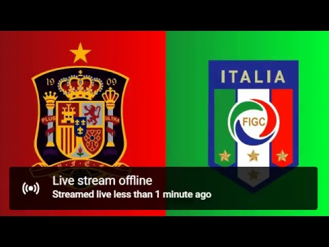 Spain Vs Italy Live Stream | Transmisión En Vivo Countdown HD