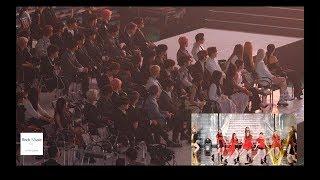 방탄소년단, 레드벨벳, 마마무, 아이콘, 청하 Reaction to 여자아이들 Stage (Senorita + LATATA) 4K 190424