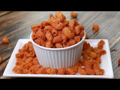 Crispy Macaroni Recipe | Crunchy Macaroni | Tea Time Recipe | Snacks Recipe | Toasted