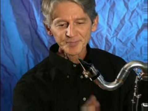 Lawrie Bloom On How To Play Bass Clarinet Part 1