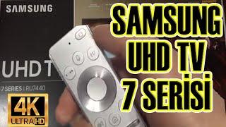 Samsung 50'RU7440 4K Smart TV İncelemesi (Detaylı)